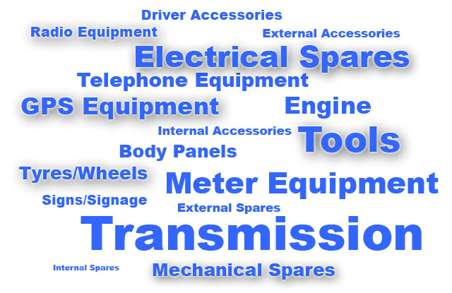 Advertise FREE Taxi and Minibus Spares
